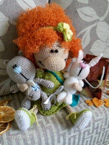 Знакомтесь-кукла Мандаринка фото 3