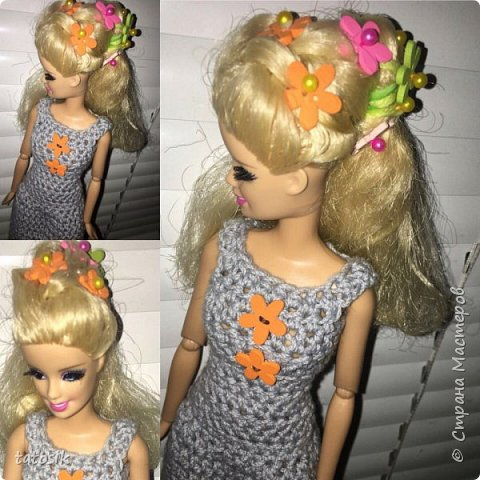 Наряды для Barbie крючком фото 1