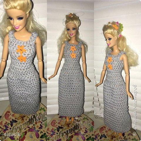 Наряды для Barbie крючком фото 2