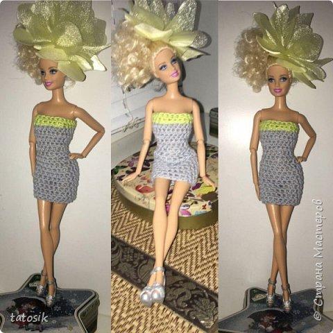 Наряды для Barbie крючком фото 11