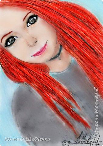 Цветные карандаши, +коррекция изображения в фотошопе)) фото 3