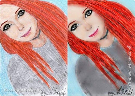 Цветные карандаши, +коррекция изображения в фотошопе)) фото 1
