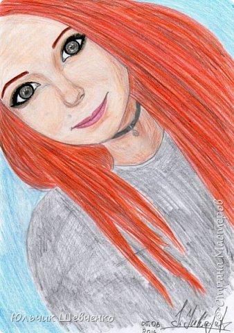 Цветные карандаши, +коррекция изображения в фотошопе)) фото 2