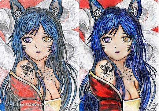 Цветные карандаши, +коррекция изображения в фотошопе))2 фото 1