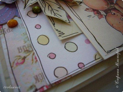 Это открыточка тоже моей Галочке,куме...Ну настроение у меня такое  было озорное :) фото 5