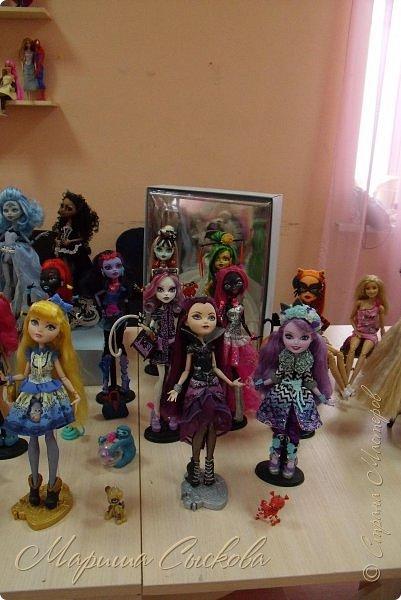Моя первая кукло-выставка))) Я со своими))) фото 9