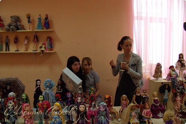 Моя первая кукло-выставка))) Я со своими))) фото 61