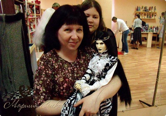 Моя первая кукло-выставка))) Я со своими))) фото 50