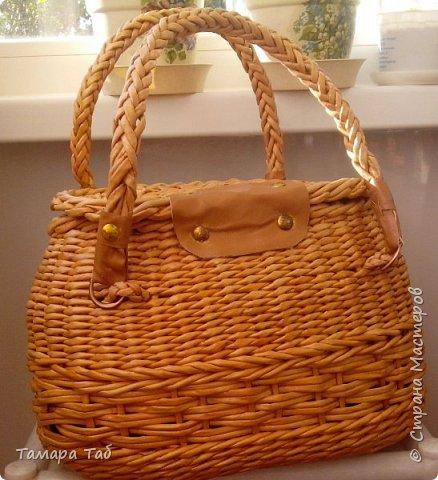 Моя первая сумка, размер по донышку 30*18* высота 20см фото 2