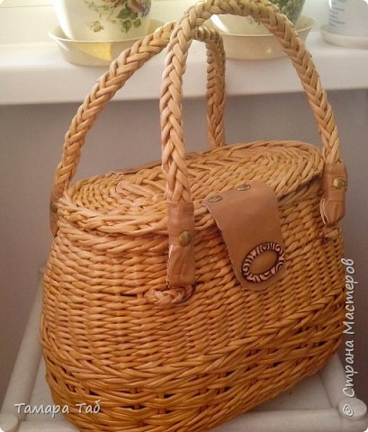 Моя первая сумка, размер по донышку 30*18* высота 20см фото 1