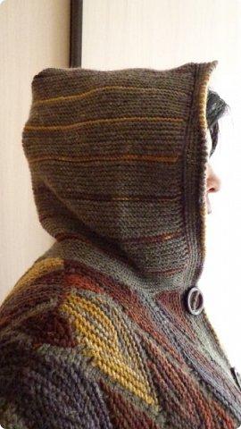 Здравствуйте. Представляю вам пальто связанное в технике свинг. фото 6