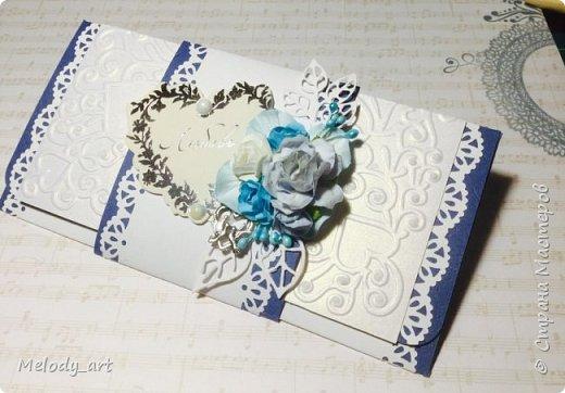 Конверт для денег на свадьбу  фото 2