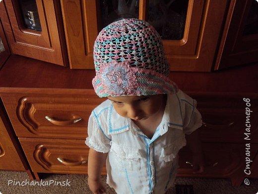 шапочки крючком фото 1