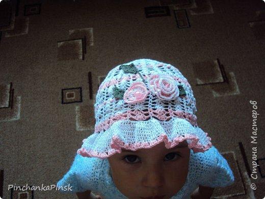 шапочки крючком фото 2