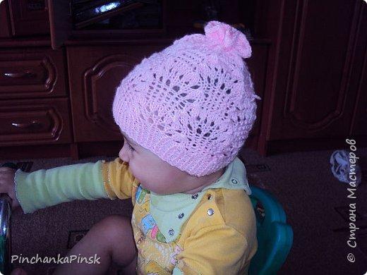 Мои первые шапочки спицами фото 3