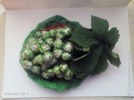 Виноград из конфет. фото 1