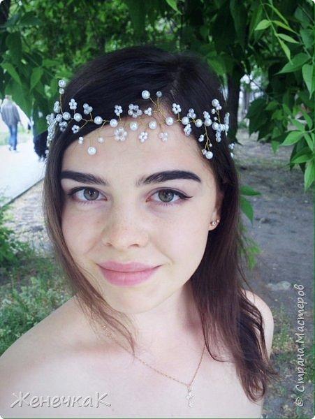 Веночек для лесной нимфы! Так дочь сказала.)))) фото 5