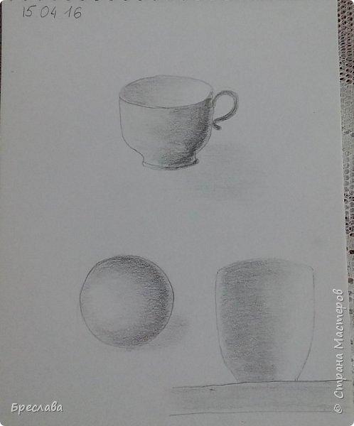 Мои художества. Сейчас тренируюсь мало.   1. Пробую объём. Ошибки вижу фото 6