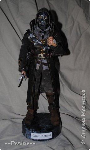 Довелось поиграть в одну потрясающую игру - Dishonored, - главным героем является Корво Аттано. Очень сложный костюм со множеством деталей... да еще и очень необычная для меня деталь - маска. Надо делать) срочно, пока вдохновение не ушло... собственно, вот) фото 1