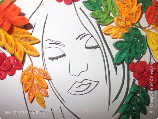 понравилась картина,повторила но в цветном варианте. фото 3