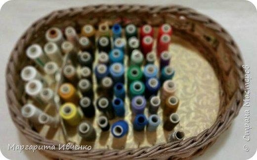 Шкатулка для ниток и игольницы фото 2