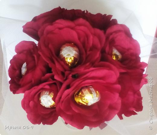 Розы для именинницы. фото 1