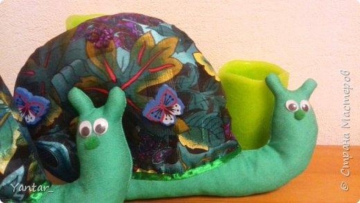 После Шляпника пошивочное настроение не прошло и родились еще вот такие две улиточки-тильды. фото 5