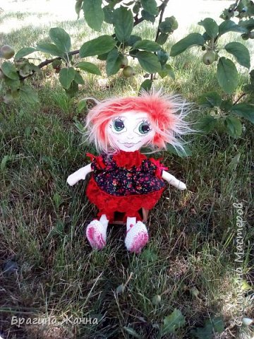 Всем жителям замечательной страны огромный привет.сегодня я к вам с куклехой озорницей))))))не захотела феюшкой быть))))захотела простой девчушкой бегать)))и так побежали))))))))))))))) фото 1