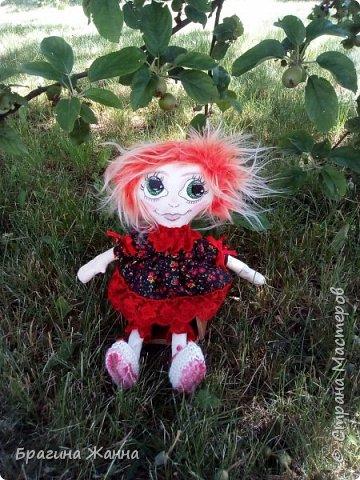 Всем жителям замечательной страны огромный привет.сегодня я к вам с куклехой озорницей))))))не захотела феюшкой быть))))захотела простой девчушкой бегать)))и так побежали))))))))))))))) фото 2