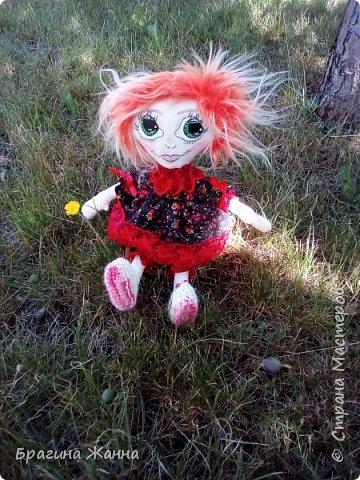 Всем жителям замечательной страны огромный привет.сегодня я к вам с куклехой озорницей))))))не захотела феюшкой быть))))захотела простой девчушкой бегать)))и так побежали))))))))))))))) фото 3