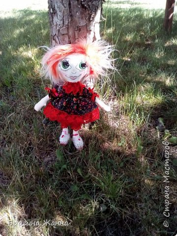Всем жителям замечательной страны огромный привет.сегодня я к вам с куклехой озорницей))))))не захотела феюшкой быть))))захотела простой девчушкой бегать)))и так побежали))))))))))))))) фото 4