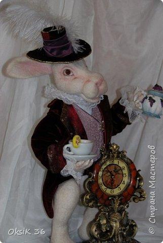 Представляю Вам моего очередного кролика!Я их обожаю,но они у меня долго не живут.Вот и делаю новеньких. фото 4