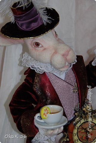 Представляю Вам моего очередного кролика!Я их обожаю,но они у меня долго не живут.Вот и делаю новеньких. фото 5