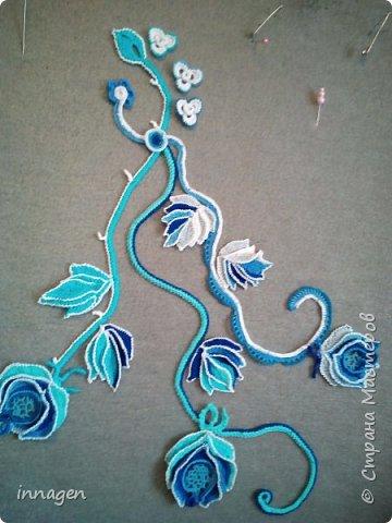 """Новая работа """"Голубая роза"""" фото 1"""