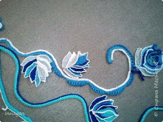 """Новая работа """"Голубая роза"""" фото 2"""