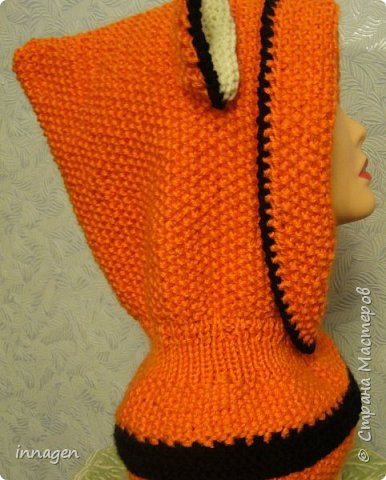 Вязание крючком. Звери-шарфы и шапки фото 8