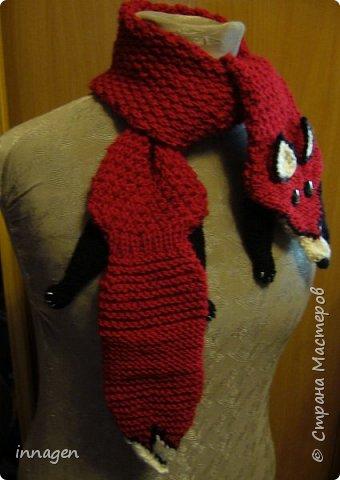 Вязание крючком. Звери-шарфы и шапки фото 1