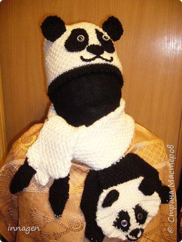 Вязание крючком. Звери-шарфы и шапки фото 5