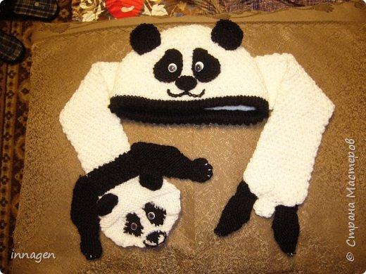 Вязание крючком. Звери-шарфы и шапки фото 6