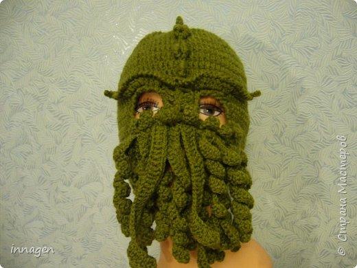 Ктулху- шапка фото 1