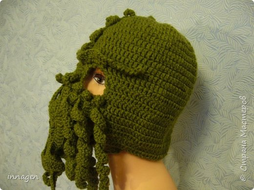 Ктулху- шапка фото 2