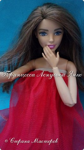 Вот такое платьице. Шила его моя крёстная, очень давно и другой куколке. Лерка нашла и сразу попросилась на фотосессию. А как можно отказать этой девочке?  фото 6
