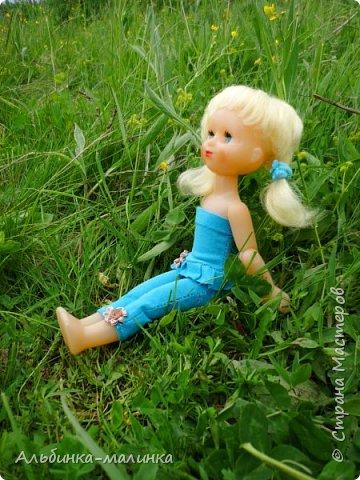"""Я хочу показать Вам свою куколку из детства.Это моя любимая Женечка. Кукла СССР:ПО""""Вятка"""", Кирово-Чепецкий филиал - шарнирка. фото 9"""