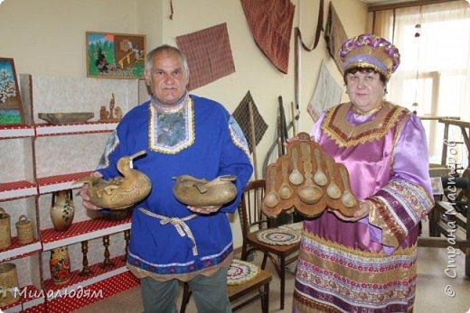 """Всем доброго времени суток. Все таки я нашла время, чтобы показать вам """"Ночь в музее"""" с русскими народными промыслами и ремеслами. Встреча с мастерами, рассказ о ремеслах, песни, сказки, частушки... фото 37"""