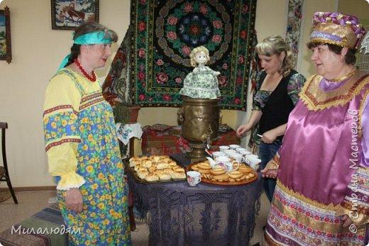 """Всем доброго времени суток. Все таки я нашла время, чтобы показать вам """"Ночь в музее"""" с русскими народными промыслами и ремеслами. Встреча с мастерами, рассказ о ремеслах, песни, сказки, частушки... фото 47"""