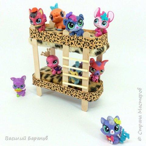 Двухъярусная кровать для игрушек «Littlest Pet Shop»