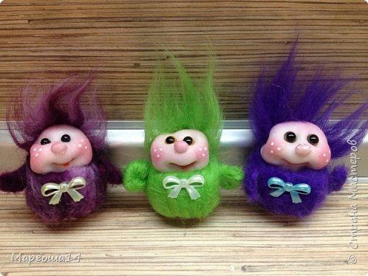 Привет,Страна Мастеров! Показываю куколки-миниатюрки по МК Виталины Воленшчак - Счастливчики. Такие куколки приятно дарить,они вызывают умиление и улыбку))) Это были первые куколки,выполненные по МК. фото 5