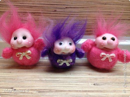 Привет,Страна Мастеров! Показываю куколки-миниатюрки по МК Виталины Воленшчак - Счастливчики. Такие куколки приятно дарить,они вызывают умиление и улыбку))) Это были первые куколки,выполненные по МК. фото 6
