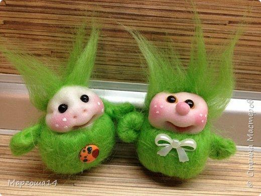 Привет,Страна Мастеров! Показываю куколки-миниатюрки по МК Виталины Воленшчак - Счастливчики. Такие куколки приятно дарить,они вызывают умиление и улыбку))) Это были первые куколки,выполненные по МК. фото 7