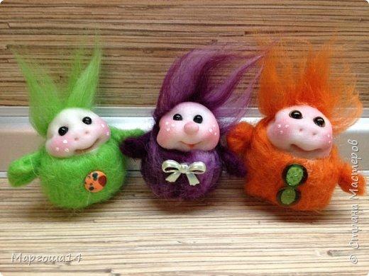 Привет,Страна Мастеров! Показываю куколки-миниатюрки по МК Виталины Воленшчак - Счастливчики. Такие куколки приятно дарить,они вызывают умиление и улыбку))) Это были первые куколки,выполненные по МК. фото 8